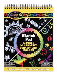 Leksaker - Skratch Art Sketch Pad -