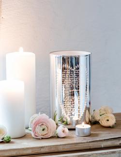 Ljuslykta Maja För kärlekens skull - silver -