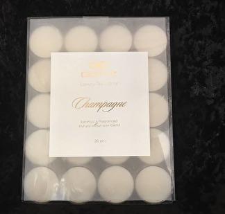 Dofta Champagne - värmeljus 20 pack -