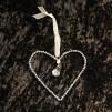 Hjärta med pärlor