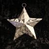 Att hänga - Metallstjärna 3D med mönster
