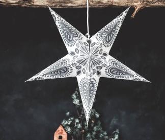 Majas Adventsstjärna Star oriental (5-uddig) -