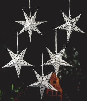 Majas prydnadsstjärnor, 5-pack -