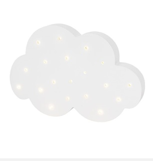 Jabadabado Ledlampa moln -