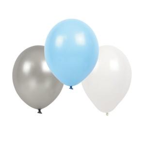 Halva priset!! Jabadabado ljusblå ballonger -