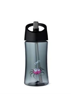 Vattenflaska 0,35 L, Grå - Spindel -