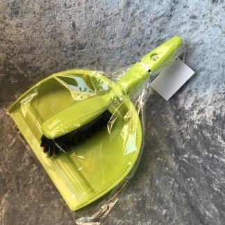 Sopskyffel-set limegrön -