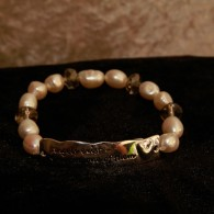 Armband - Angels Exist, Pearls for Girls