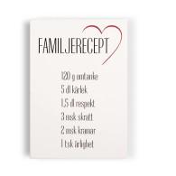 Familjerecept - Tavla