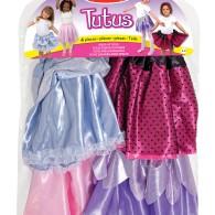 Leksaker - Kjolar i 4-pack (utklädnad)