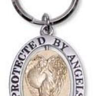 Nyckelring - Protected by angels