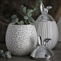 Rabbit Jar - Stor med silverlock