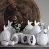 Rabbit Jar - Liten med vitt lock