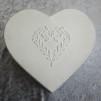 Plåtburk hjärta - mellan 20 cm