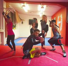 Träning med nybörjare/motions-gruppen