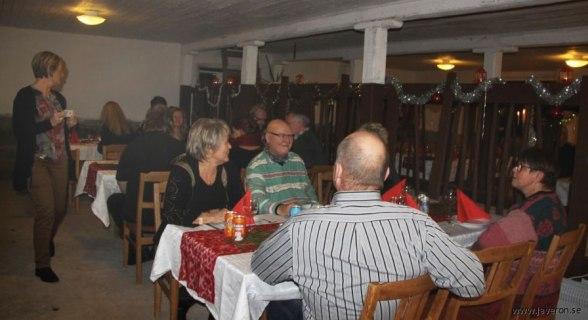 Smygpremiär med Julbord december 2012