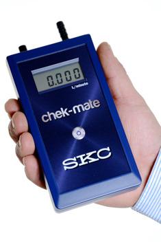 Chek-mate digital flödesmätare från SKC