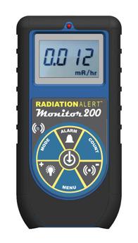Monitor 200 geigerräknare