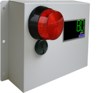 Radiation alert Area Monitor