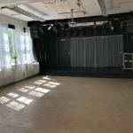 Stora salen med ljud/ljus anläggning och möjlighet till dansgolv