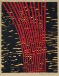 15) Knippe, 24x19 cm, träsnitt, u.50