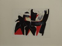 21) Dans, 23x30 cm serigr. u.200