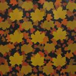 Lövmatta, olja, 70x70