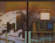 Fönster, olja,90x115cm