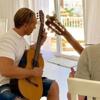 Emil undervisar Petter