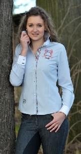 Skjorta Elegance från HKM  - Skjorta Elegance Ljusblå stl: M