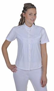 Tävlingsskjorta Easy från HKM  - Tävlingsskjorta Easy vit stl: XS