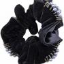 Hårband med pärlor   - Hårband med pärlor svart