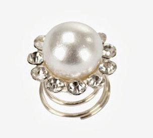 Hårspiral - Pärla