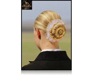 SD® Hårband  - Hårband med guldkant