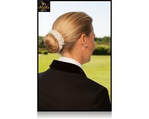 SD® Pärlhårband - Vita pärlor