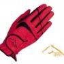 RSL handske Rom  - röd stl M