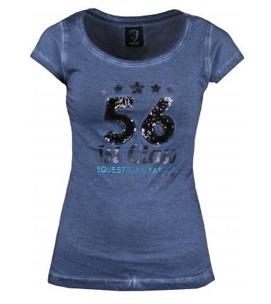 T-shirt Lima från Horka - Denim(Blå) stl L