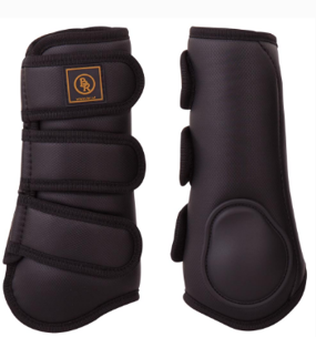 Tendon boots Pro Max från BR - Svarta M