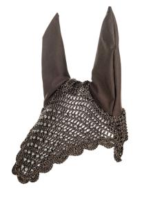 HUVA -SILVER PEARLS- - Brun med silver pärlor stl full