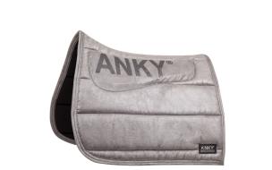 Anky sadelpadd dressyr - Silvergrå dressyr full
