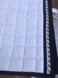 Schabrak vita Mias RS - Vita med rakt hörn Svart och silver