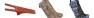 Stövelbag -Leeds- - Stövelbag camel/mörkbrun