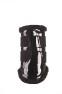 Skydd Patent Comfort Brushing Boots - Colourful  - Skydd svarta stl:L