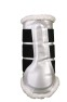 Skydd Patent Comfort Brushing Boots - Colourful  - Skydd silver stl:L