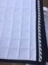 50+ Schabrak med brodyr - Mias RS vit trakt hörn blått/silver dressyr full