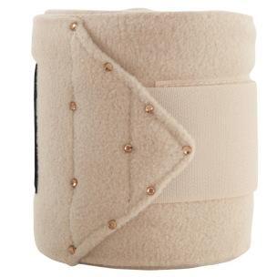ANKY® Fleece lindor  med bling - Pale Guld