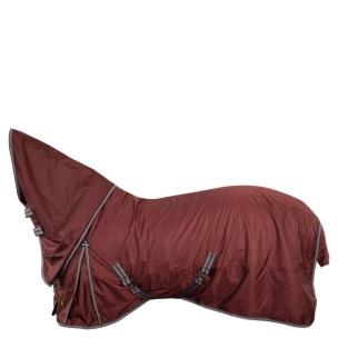 BR Regntäcke Combo Passion med fleece i halsen och på ryggen  1200D – 0 g - Vinrött stl 145