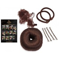 COMPLETE SD® DRESSAGE DONUT SET WITH GUIDE IN DARK BROWN. H-100