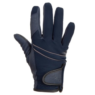 ANKY Technical Gloves Ink Blue - Marinblåa stl 7
