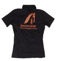 Horseaddict Pikétröja stretchigt funktionsmaterial